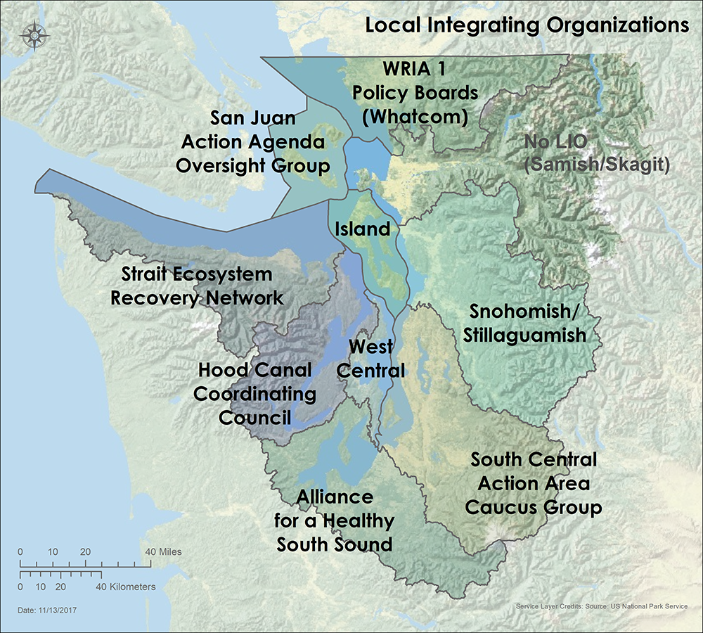Puget Sound Partnership - Local Integrating Organizations